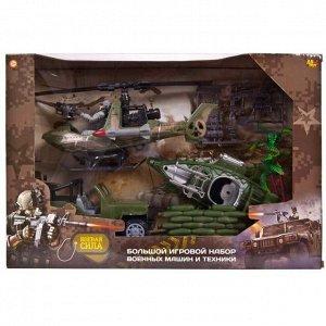 Игровой набор Abtoys Боевая сила Военная техника с фигуркой и аксессуарами734