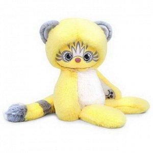 Мягкая игрушка BUDI BASA Lori Colori Эйка (жёлтый) 25см1