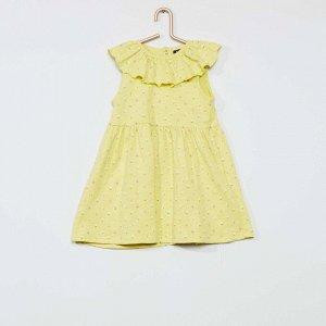 Комплект платье + трусики - зеленый