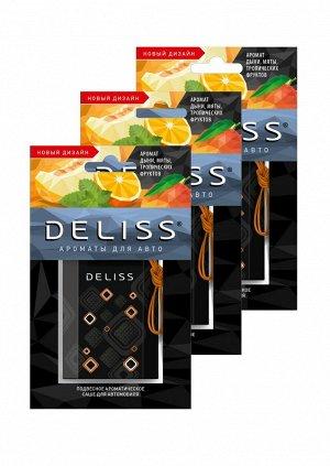 Подвесное ароматическое саше для автомобиля Deliss серии Joy