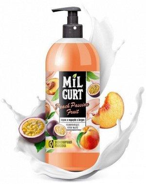 "Ж/мыло ""Весна"" MILGURT персик и маракуйя в йогурте 860гр. /8/ арт.5190"