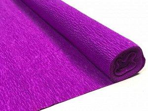 Гофра Китай, 250*50 см, №40 глубокий пурпурный