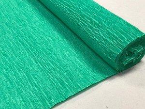 Гофра Китай, 250*50 см №17 пигментно-зеленый