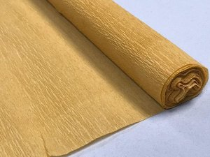 Гофра Китай, 250*50 см №22 бронзовый