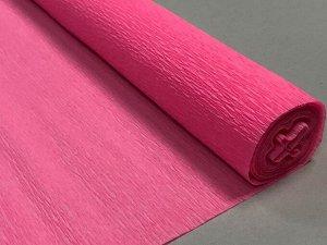 Гофра Китай, 250*50 см № 38 французский розовый
