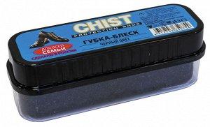 CHIST Губка д/гладкой кожи, Черный, черный, 28020