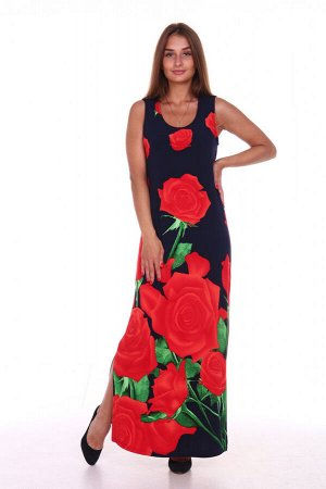 "645/2 Сарафан ""Красные розы"""