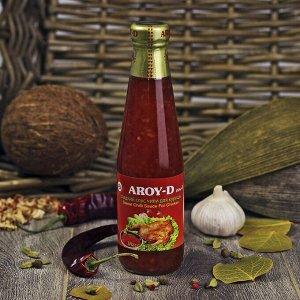"""Соус """"Чили сладкий для курицы"""" AROY-D, 350г, ст\б"""