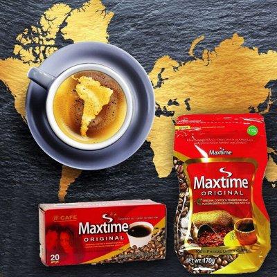 """🎌 Вкусная Азия в наличии! Лапша, сок Нони, сладости🎌    — Кофе """"Макстайм"""" Корея — Растворимый кофе"""