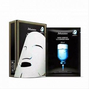 JMsolution Water Luminous S.O.S. Ringer Mask Ультраувлажняющая тканевая маска с гиалуроновой кислотой и пептидами 35 мл