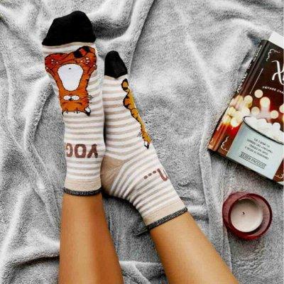 Conte- ваши колготки и носки, классика и фантазия — Носки женские с рисунком, с люрексом, однотонные — Носки