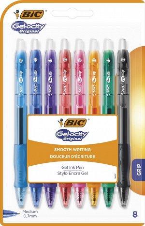 Ручка гелевая BIC Gel-Ocity Original Блистер x8