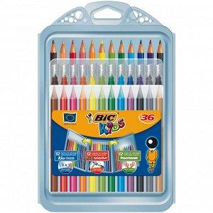 Подарочный набор для детского творчества BIC Kids® 36 предметов