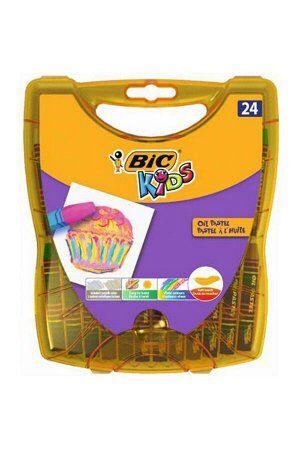 Мелки цветные BIC Kids Oil Pastel Бокс x24