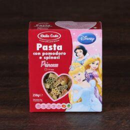 """Макаронные изделия Disney """"Принцесса"""" 0,250 кг, фигурные со шпинатом и томатами 1/15"""