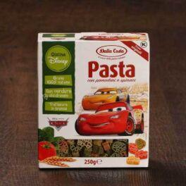 """Макаронные изделия Disney """"Тачки"""" 0,250 кг, фигурные со шпинатом и томатами 1/15"""