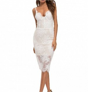 Платье Платье. Материал: Полиэстер. Размер: (бюст, длина см) S (84-88, 111), M (88-92,112), L (92-96, 113), XL (96-100, 114).