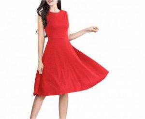 Платье Платье. Материал: Полиэстер. Размер: (бюст, длина см) S (90, 97), M (95, 99.5), L (100, 102), XL (105, 104.5), 2XL (110, 107).