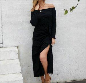 Платье Платье. Материал: Полиэстер. Размер: (бюст, длина см) S (87, 120), M (92, 121), L (97, 122), XL (102, 123).