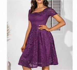 Платье Платье. Материал: Полиэстер. Размер: (бюст, длина см) S (82, 101), M (87, 102), L (91, 103), XL (100, 104.5), 2XL (108, 105).