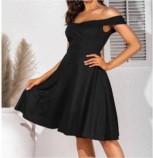 Платье Платье. Материал: Полиэстер. Размер: (бюст, длина см) S (83, 82.5), M (88, 84), L (93, 85.5), XL (98, 87), 2XL (103, 88.5).