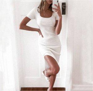 Платье Платье. Материал: Полиэстер. Размер: (бюст, длина см) S (82, 120), M (86, 122), L (90, 124), XL (94, 126).