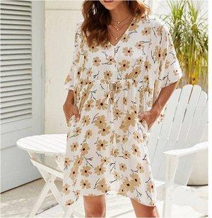 Платье Платье. Материал: Полиэстер. Размер: (бюст, длина см) S (98, 92), M (103, 93), L (108, 94), XL (113, 95).