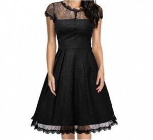 Платье Платье. Материал: Полиэстер. Размер: (бюст, длина см) S (86, 100), M (90, 101), L (94, 102), XL (98, 103), 2XL (102, 104), 3XL (106, 105).