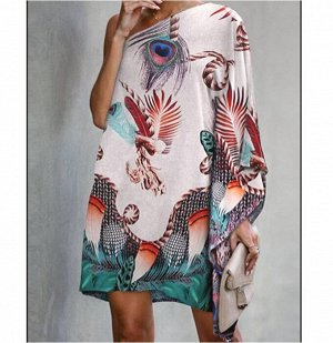 Платье летучая мыш