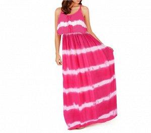 Платье Платье. Материал: Полиэстер. Размер: (бюст. длина см) S (85, 132), M (90, 133), L (95, 135), XL (100, 135), 2XL (105, 136).