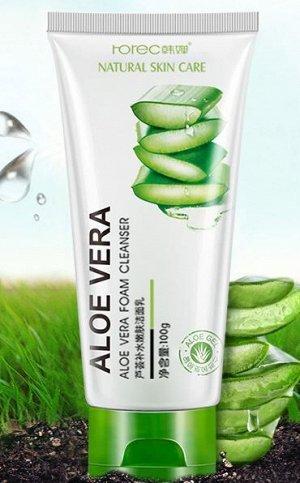 Пенка для умывания Aloe Vera. 100 мл