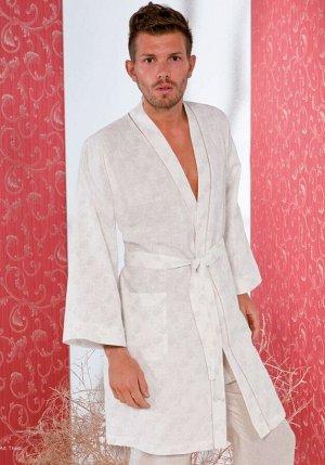 Домашний халат Robina Цвет: Бежевый. Производитель: B&B