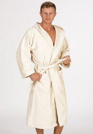 Домашний халат Caelie Цвет: Бежевый. Производитель: Baci & Abbracci