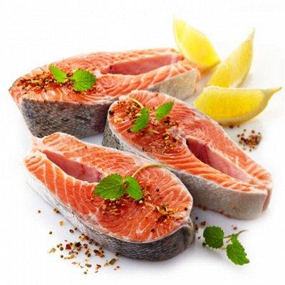 Океан вкуса! Икра! Рыбные стейки! Фарш нерки!  — Рыбные стейки свежемороженые! — Свежие и замороженные
