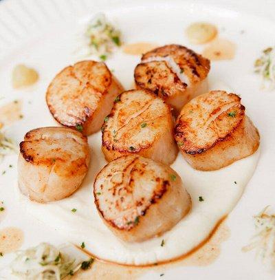 Океан вкуса! Икра! Рыбные стейки! Фарш нерки!  — Гребешок и другие вкусные моллюски 😋 — Свежие и замороженные