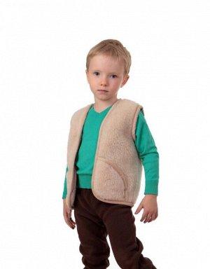 Детский жилетGerry  Цвет: Бежевый (4 года). Производитель: ALTRO