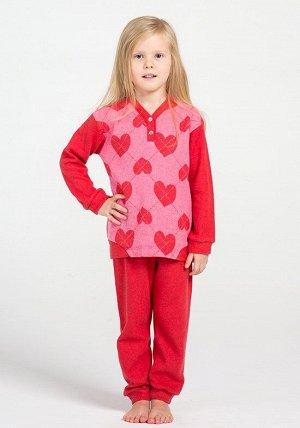 Детская пижама Virgo Цвет: Красный. Производитель: Piccola Miss