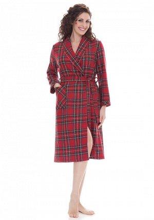 Домашний халат Alyssia Цвет: Красный. Производитель: B&B