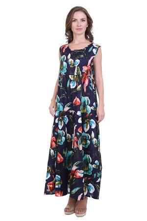Платье Magdalene Цвет: Синий,Мультиколор. Производитель: Ганг