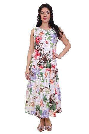Платье Rowena Цвет: Белый,Мультиколор. Производитель: Ганг