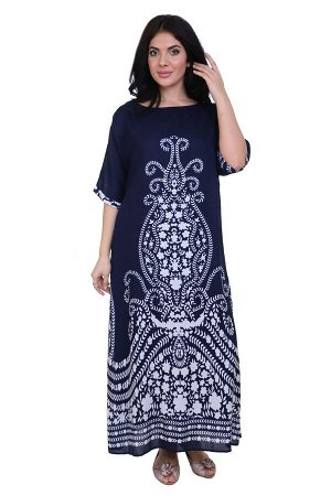 Платье Kathryn Цвет: Синий,Белый. Производитель: Ганг