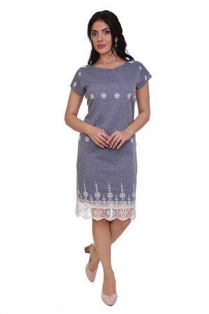 Платье Bethanie Цвет: Серо-Голубой. Производитель: Ганг