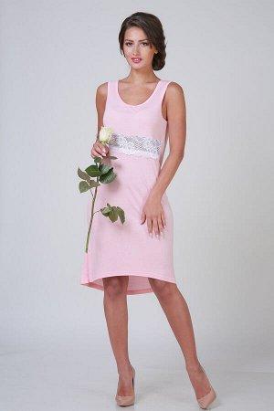 Ночная сорочка Ласса Цвет: Персиковый. Производитель: ModaRu