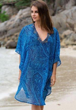 Парео Riviera Цвет: Голубой. Производитель: Mia-Amore