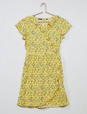 Платье с цветочным узором