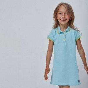 Платье для девочки, голубой