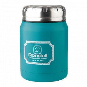 944 Термос для еды 0,5 л Turquoise Picnic Rondell (TQ)