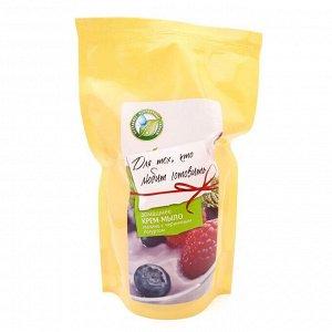 Запасной блок Крем – мыла «Малина с черничным йогуртом» 213, 500 мл