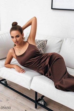 Элегантное платье в бельевом стиле