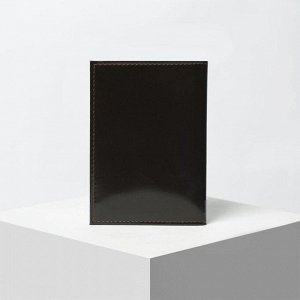 Обложка для автодокументов, шик, цвет коричневый